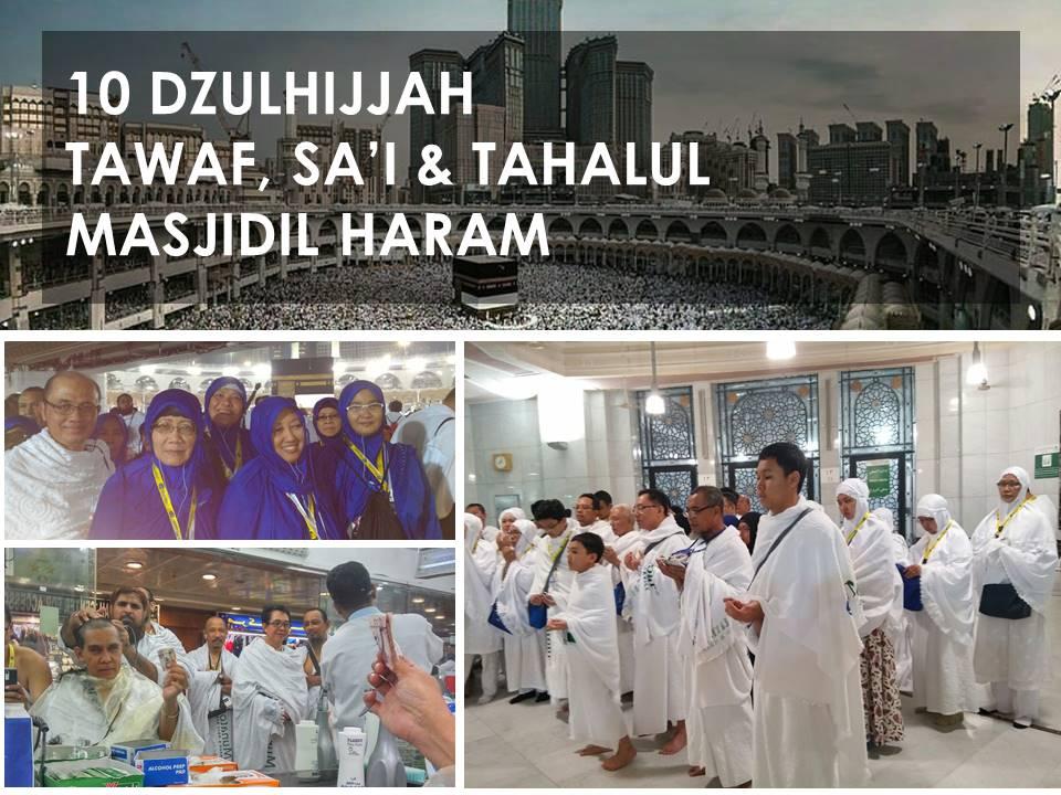 Tata cara Tawaf Umroh & Haji
