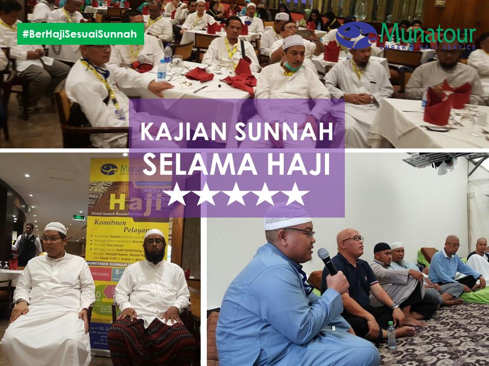 Munatour : Haji 2018 bersama Ustad Dr Firanda Andirja, MA