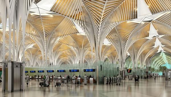 Uji Coba Bandara Baru Madinah