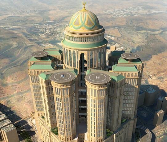 Arab Saudi akan Bangun Hotel Terbesar di Dunia