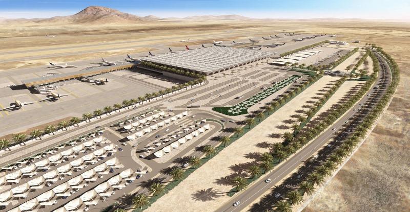 Raja Saudi Resmikan Bandara Baru Madinah