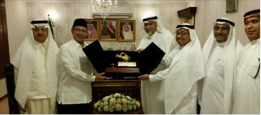 Kunjungan Menteri RI ke Muassasah Asia Tenggara