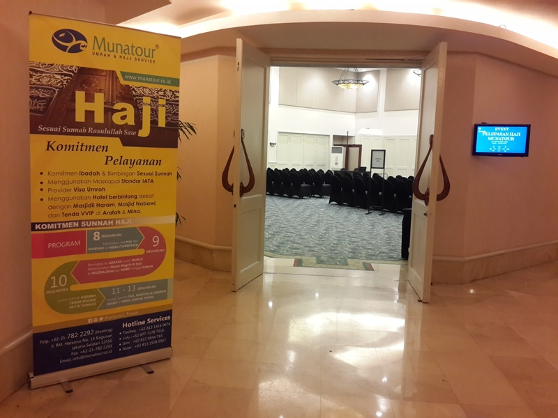 Munatour Berangkatkan 3 Bus Jamaah Haji