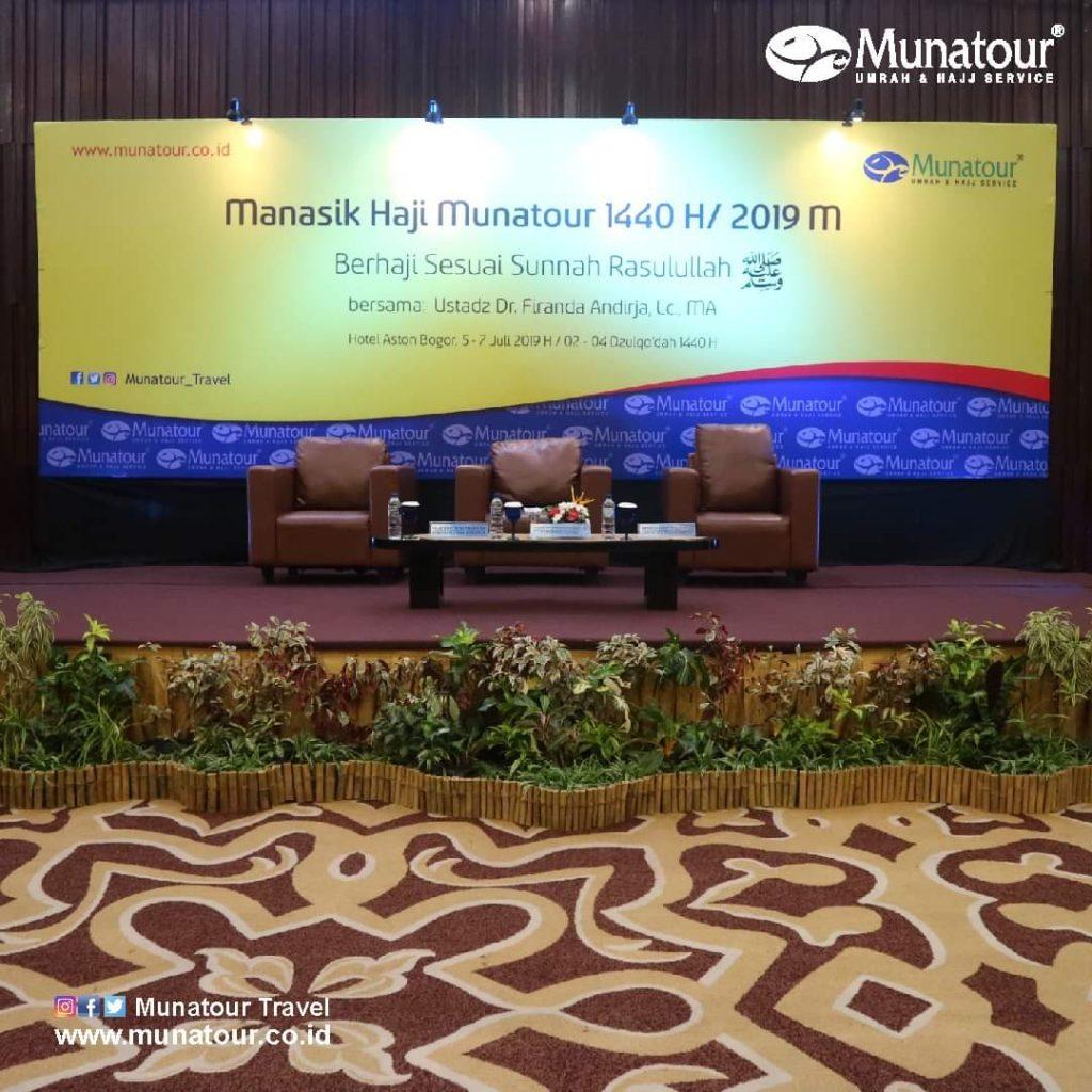 Munatour Travel Selenggarakan Manasik Haji 1440 H/ 2019 M