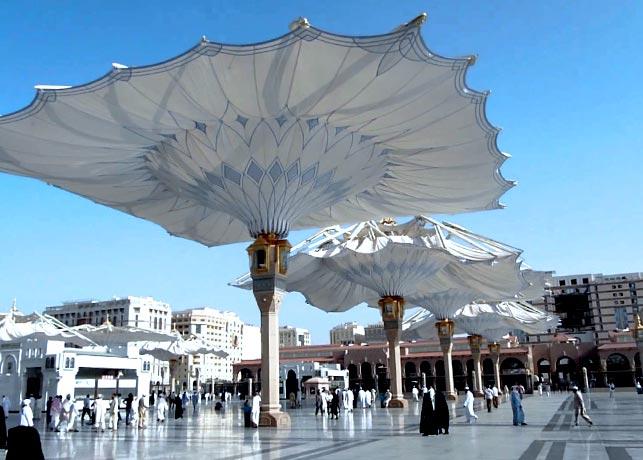 Payung Besar akan dibangun di Masjidi Haram