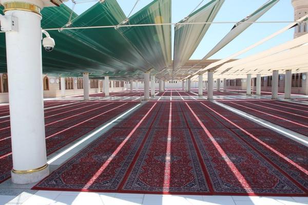 Masjid Nabawi Perbarui 7 ribu Karpet