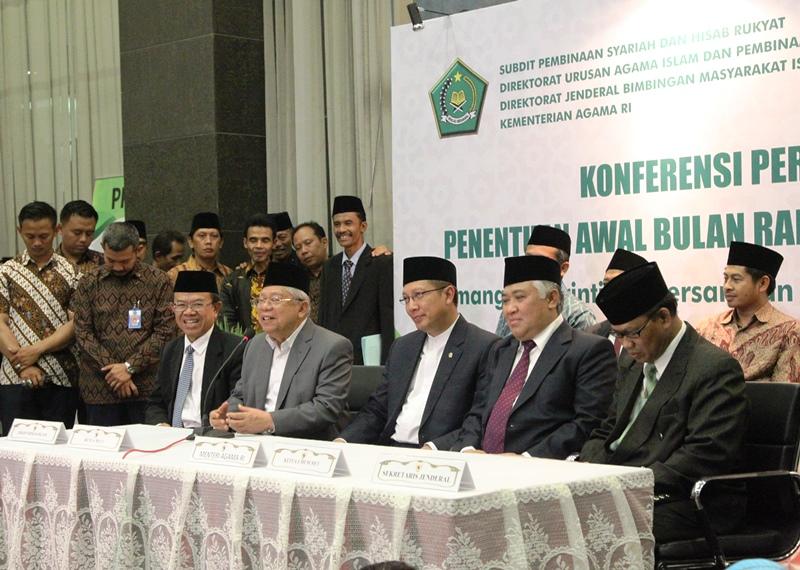 Pemerintah Tetapkan Awal Ramadan 18 Juni
