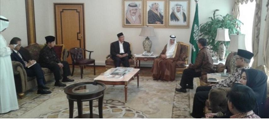 Menag Bertemu Menteri Haji Arab Saudi
