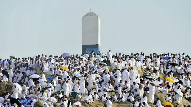 Kegiatan Wukuf Di Arafah