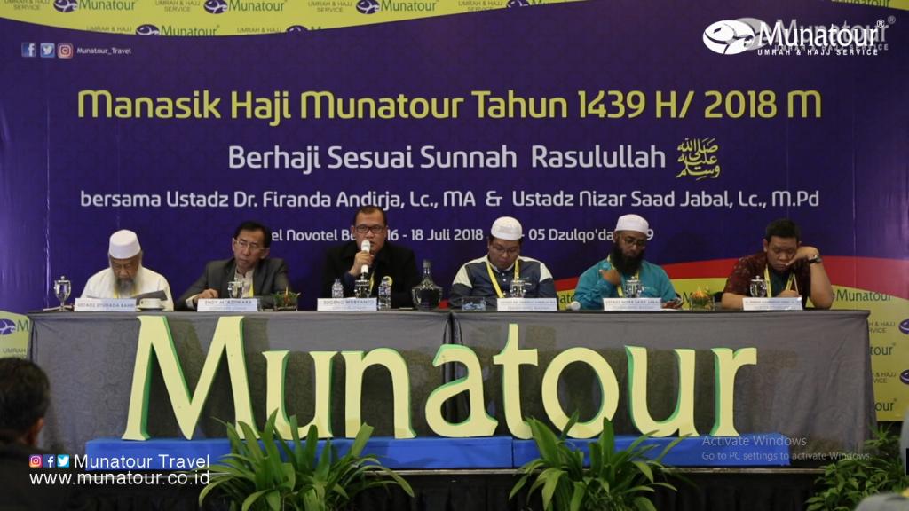 90 Jamaah ikut Manasik Haji Munatour 2018